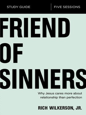 cover image of Friend of Sinners Study Guide
