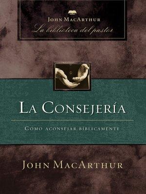 cover image of La consejería
