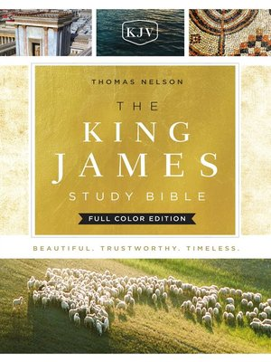 cover image of KJV, the King James Study Bible, Ebook, Full-Color