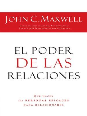 cover image of El poder de las relaciones