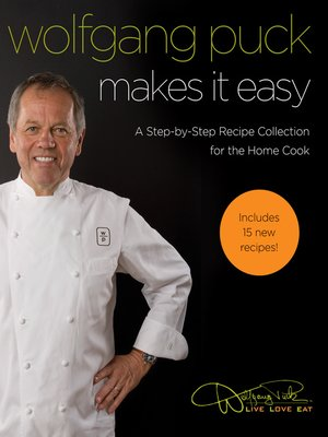 cover image of Wolfgang Puck Makes It Easy