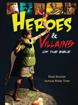 cover image of Heroes and Villains of the Bible