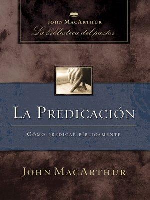 cover image of La predicación