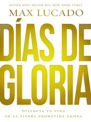 cover image of Días de gloria