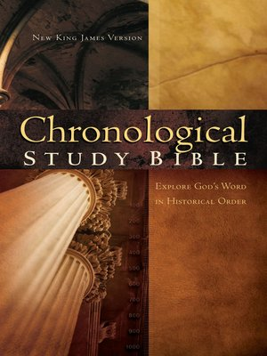 cover image of NKJV, Chronological Study Bible, eBook