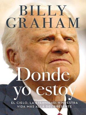 cover image of Donde yo estoy