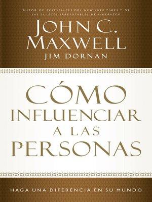 cover image of Cómo influenciar a las personas