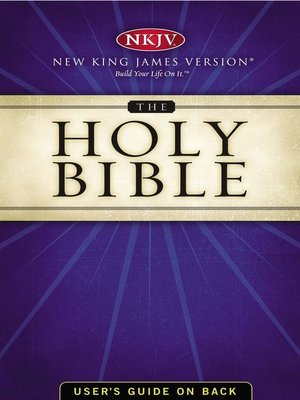 cover image of NKJV, Holy Bible, eBook