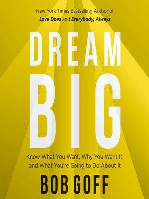 cover image of Dream Big