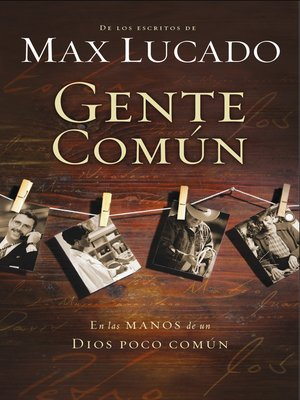 cover image of Gente común