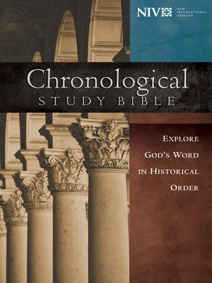 cover image of NIV, Chronological Study Bible, eBook