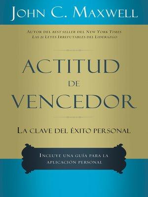 cover image of Actitud de vencedor