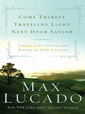 cover image of Lucado 3-in-1
