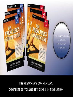 cover image of The Preacher's Commentary, Complete 35-Volume Set