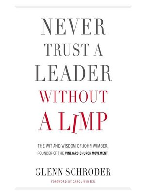 cover image of Never Trust a Leader Without a Limp