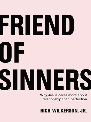 cover image of Friend of Sinners