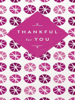 cover image of Thankful for You