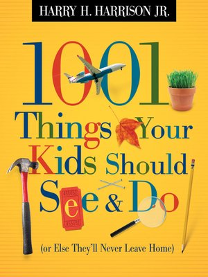 cover image of 1001 Things Your Kids Should See & Do