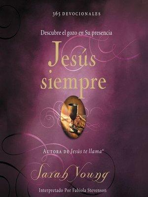 cover image of Jesús siempre