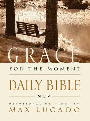 cover image of NCV, Grace for the Moment Daily Bible, eBook