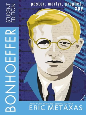 cover image of Bonhoeffer Student Edition