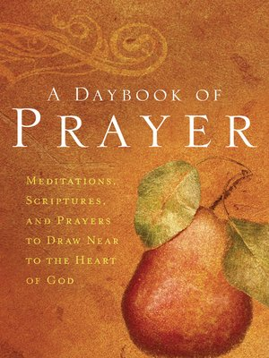 cover image of A Daybook of Prayer