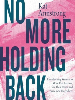 cover image of No More Holding Back