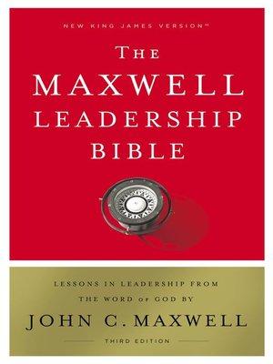cover image of NKJV, Maxwell Leadership Bible, Ebook