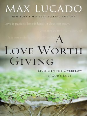 cover image of A Love Worth Giving