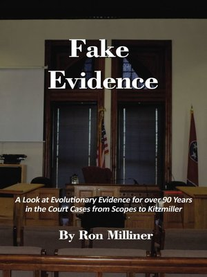 cover image of Fake Evidence