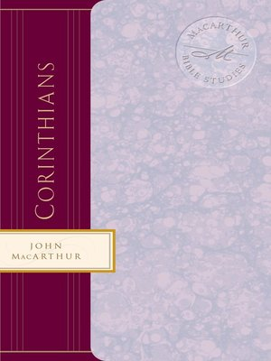 cover image of 1 Corinthians