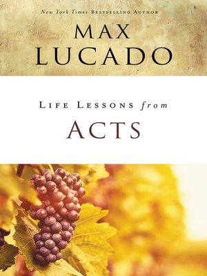 cover image of Life Lessons from Acts