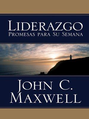 cover image of Liderazgo promesas para su semana
