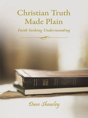cover image of Christian Truth Made Plain