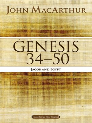 cover image of Genesis 34 to 50