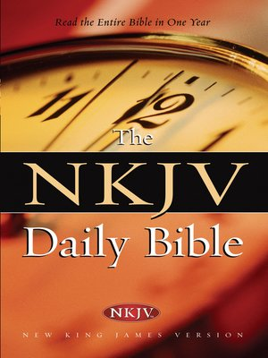 cover image of NKJV, Daily Bible, eBook