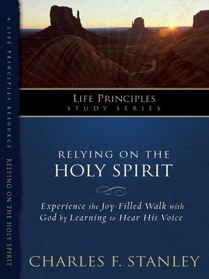 cover image of Relying on the Holy Spirit