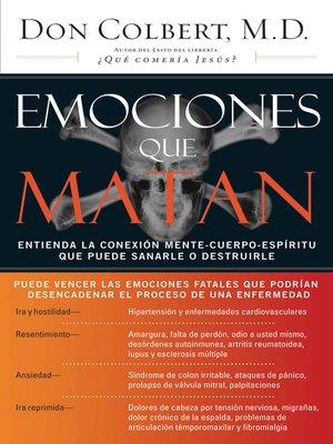 cover image of Emociones que matan