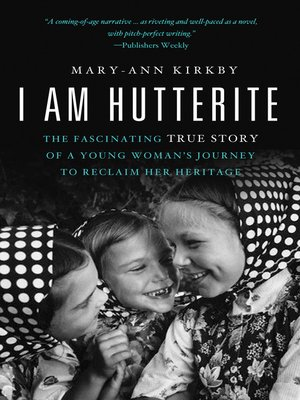 cover image of I Am Hutterite