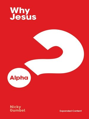 cover image of Why Jesus? Expanded Edition