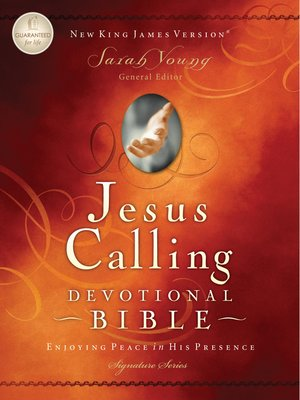 cover image of NKJV, Jesus Calling Devotional Bible, eBook