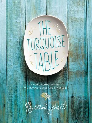 cover image of The Turquoise Table