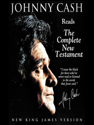 cover image of Johnny Cash Reading the New Testament Audio Bible--New King James Version, NKJV