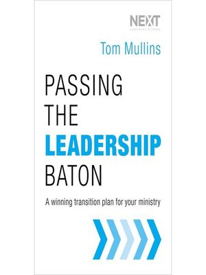 cover image of Passing the Leadership Baton