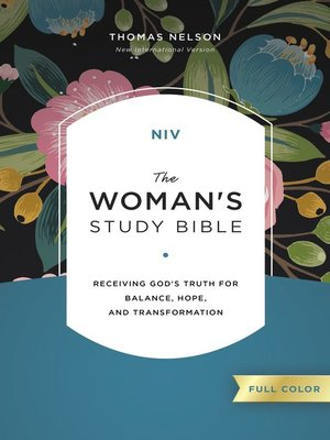 cover image of NIV, the Woman's Study Bible, Full-Color