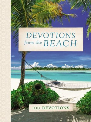 cover image of Devotions from the Beach