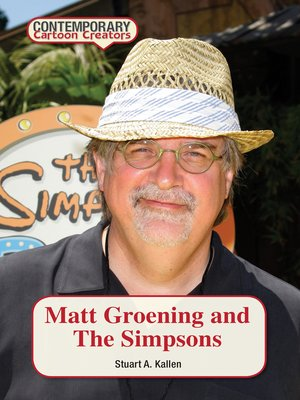 cover image of Matt Groening and The Simpsons