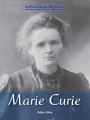 cover image of Marie Curie