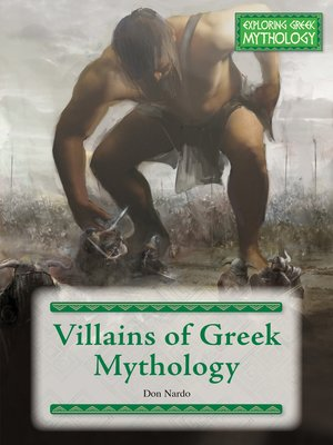 cover image of Villains of Greek Mythology