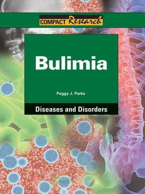 cover image of Bulimia